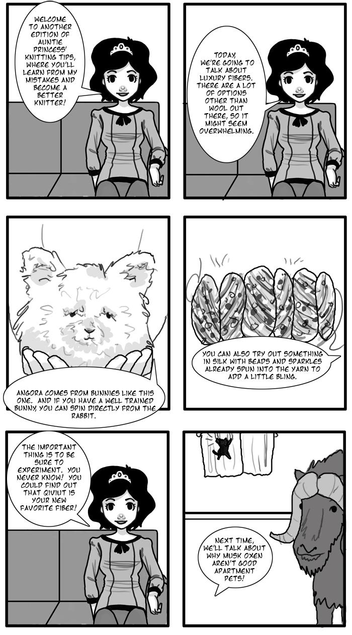 Auntie Princess' Knitting Tips 13